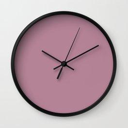 English Lavender - solid color Wall Clock