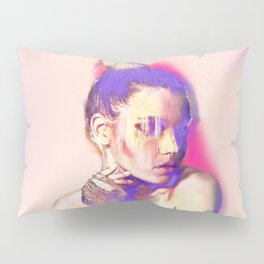 Glamour Glitch Pillow Sham