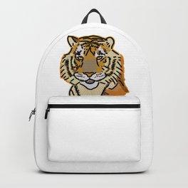 Tiger Portrait Digital Painting Backpack