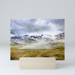 Lago Ercina in National park Picos de Europa Mini Art Print