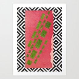 NATURE'S CARPET Art Print
