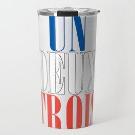 UN DEUX TROIS Travel Mug