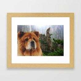 Dog Chow Chow Framed Art Print