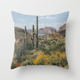 Arizona Spring Throw Pillow