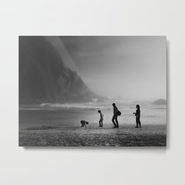 What's out there? Metal Print