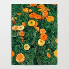 Marigolds by Koloman Moser, 1909 Poster