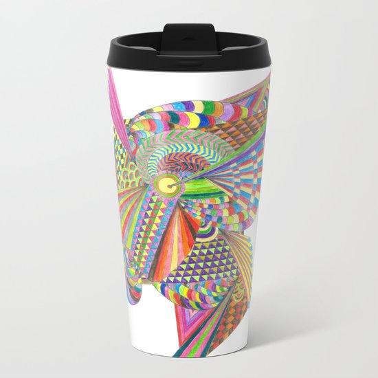 free your mind Metal Travel Mug