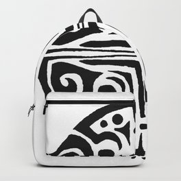 Rond,tatouage,mandal,tatoo Backpack