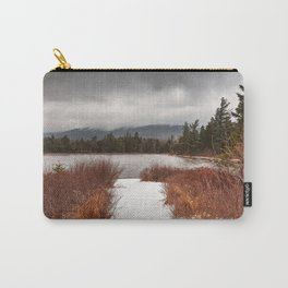 Winter Lily Pond Carry-All Pouch