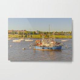 Buceo Port, Montevideo, Uruguay Metal Print