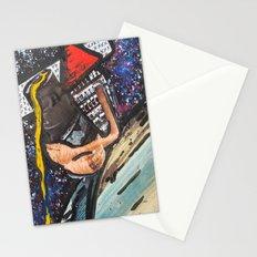 Triangle Man Says Hi  Stationery Cards