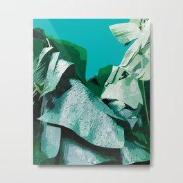 Banana Life #society6artprint #tropical #buyart Metal Print