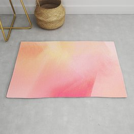 Rose petal abstract background Rug