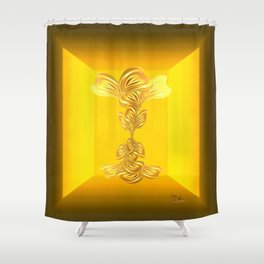 The gratitude plant Shower Curtain
