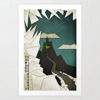 edward scissorhands Art Prints featuring Edward Scissorhands by Fontolia (Katie Blaker)