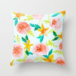 Tropical Daydreams Throw Pillow