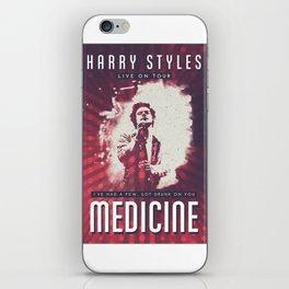 VINTAGE MEDICINE POSTER iPhone Skin