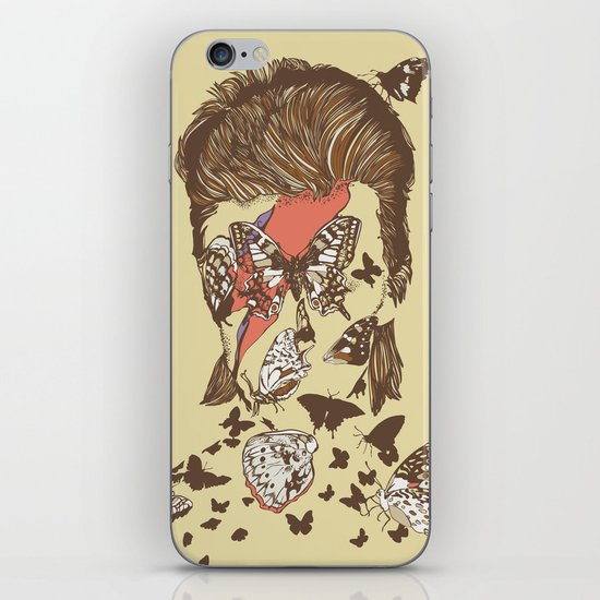 FACES OF GLAM ROCK iPhone & iPod Skin