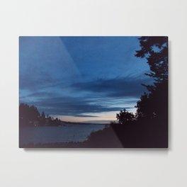 Evening Skies Metal Print