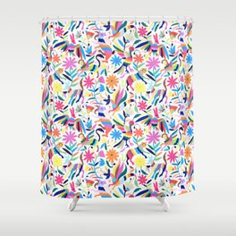 Creatures Otomi Shower Curtain