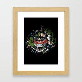 J_ob Framed Art Print