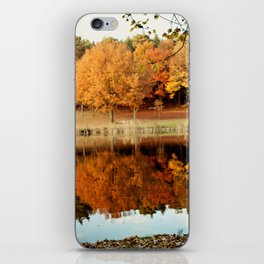 Fall Reflections iPhone Skin