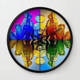 Nopal Pop Wall Clock