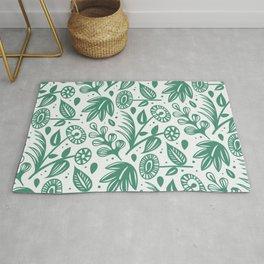 Papercut Plants Rug