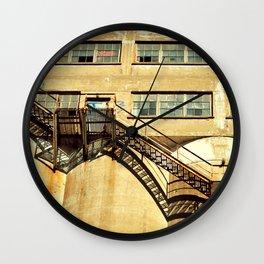 emergency stairs Wall Clock