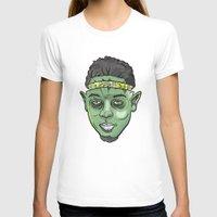 kendrick lamar T-shirts featuring Kendrick Lamar Yoda by Sneaker Pie