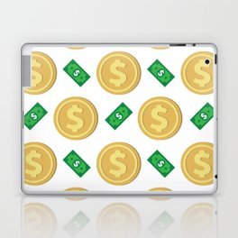 Dollar pattern background Laptop & iPad Skin