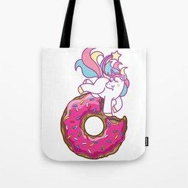Unicorn & donut Tote Bag