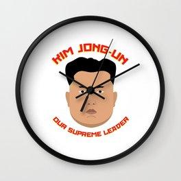 Kim Jong-Un Wall Clock