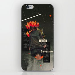 Save Me iPhone Skin
