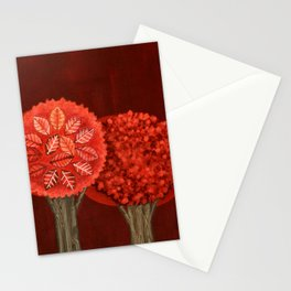 Red Grove Stationery Cards