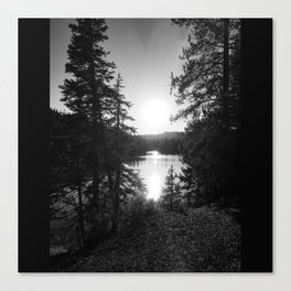 Devils Lake Canvas Print