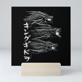 Waterbrushed Dark Three-Headed Villain 2019 Mini Art Print