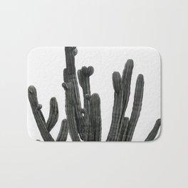 Black and White Cactus Bath Mat