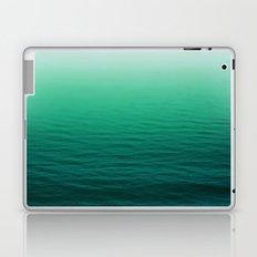 Deep Aqua Waves Laptop & iPad Skin