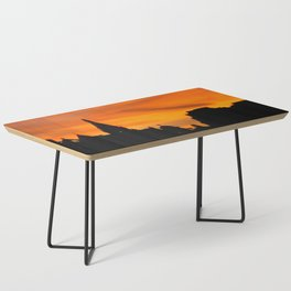 London Sunset in sillouette bywhacky Coffee Table