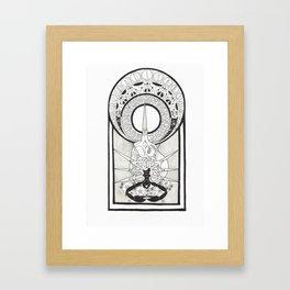 Scissors Framed Art Print