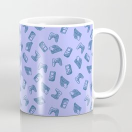 Arcade in Blue Coffee Mug