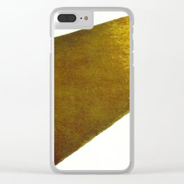 Kazimir Malevich Yellow Plane in Dissolution Clear iPhone Case