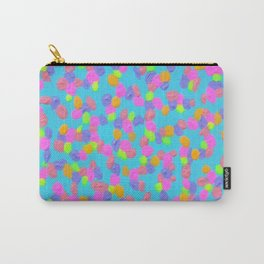 Spring Colors Drip Abstract Art Carry-All Pouch
