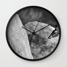 Whiteout - Giraffe Wall Clock