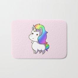 Super Cute Rainbow Unicorn Kawaii Bath Mat