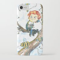cabin pressure iPhone & iPod Cases featuring Cabin Pressure: Uskerty by theo-doras