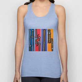 Four Humors Unisex Tank Top