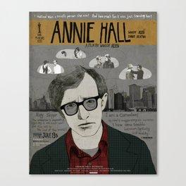 Annie Hall Movie Poster/ Woody Allen Canvas Print