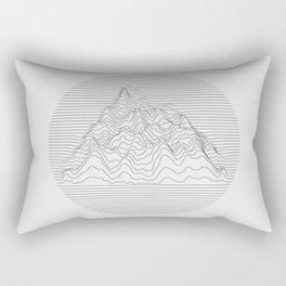 Mountain lines Rectangular Pillow